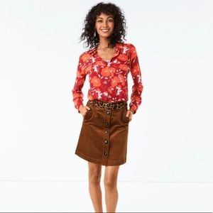 Cabi Hothouse blouse